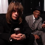 David Johansen and Hubert Sumlin